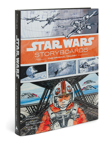 Star Wars Storyboards Original Trilogy Book