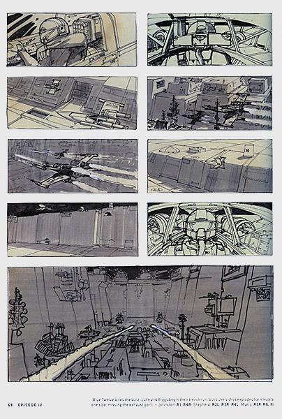 Star Wars Storyboards Original Trilogy
