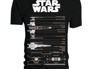 Star Wars T-Shirts: X-Wing Blueprint