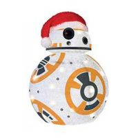 Star Wars TFA BB-8 28-Inch Light-Up Tinsel Display