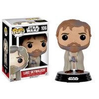 Star Wars TFA Bearded Luke Skywalker Pop Vinyl Figure