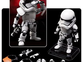 Star Wars TFA First Order Stormtrooper Egg Attack Figure