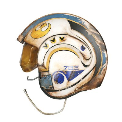 Star Wars TFA Rey Salvaged X-Wing Pilot Helmet