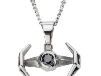 Star Wars TIE Fighter Pendant Necklace