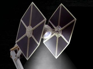 Star Wars TIE Fighter Poseable Desk Lamp