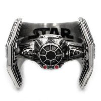 Star Wars TIE Fighter Stainless Steel Ring