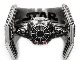 Star Wars TIE Fighter Stainless Steel Ring