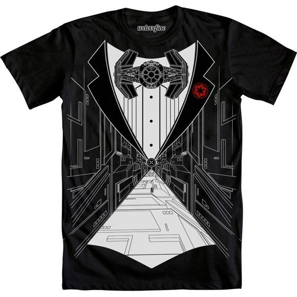 Star Wars TIE Fighter Tux Shirt