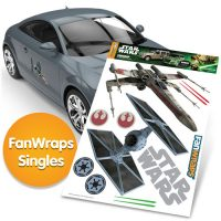 Star Wars TIE Fighter and XWing FanWraps Car Decals
