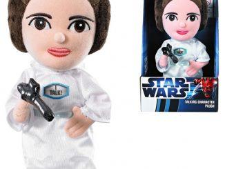 Star Wars Talking Princess Leia Plush