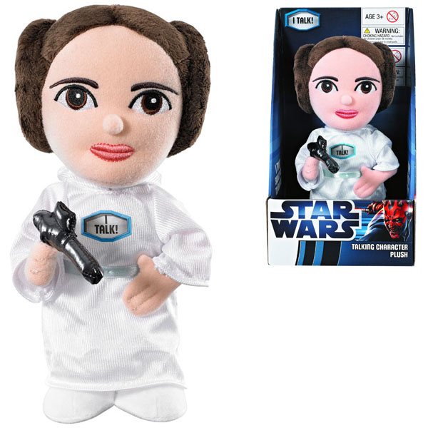 Star Wars Talking Princess Leia Plush