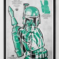 Star Wars Target Prints - Boba Fett