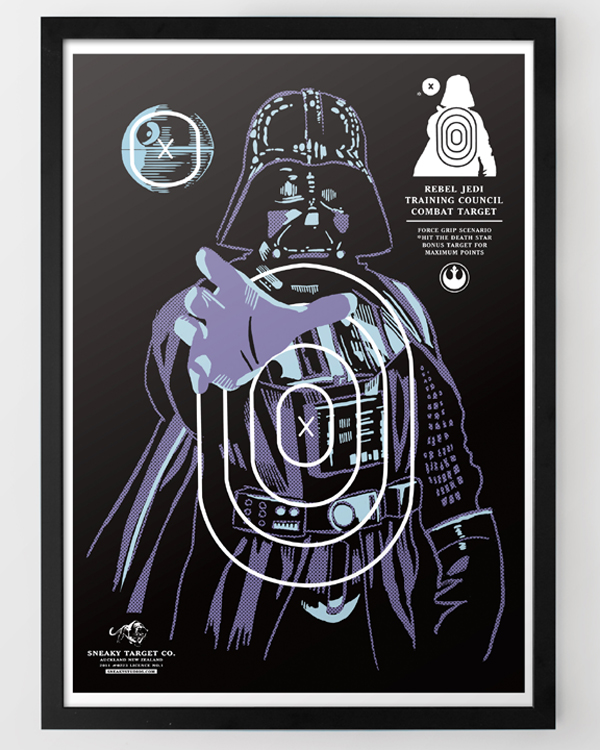 Star Wars Target Prints - Darth Vader