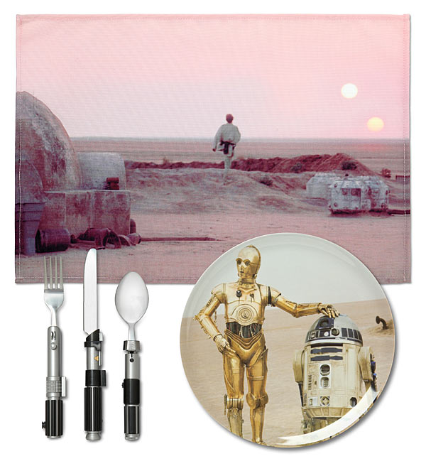 Star Wars Tatooine Dinner Set