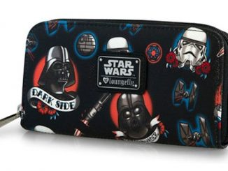 Star Wars Tattoo Print Zip Around Wallet
