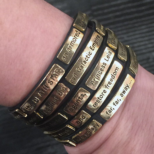 Star Wars The Crawl Wrap Bracelet