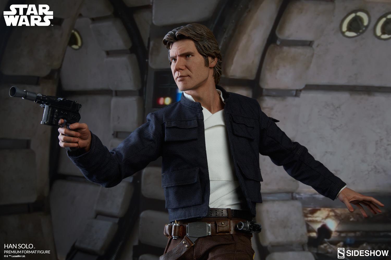 Solo: Star Wars The Empire Strikes Back Han Solo Premium Format