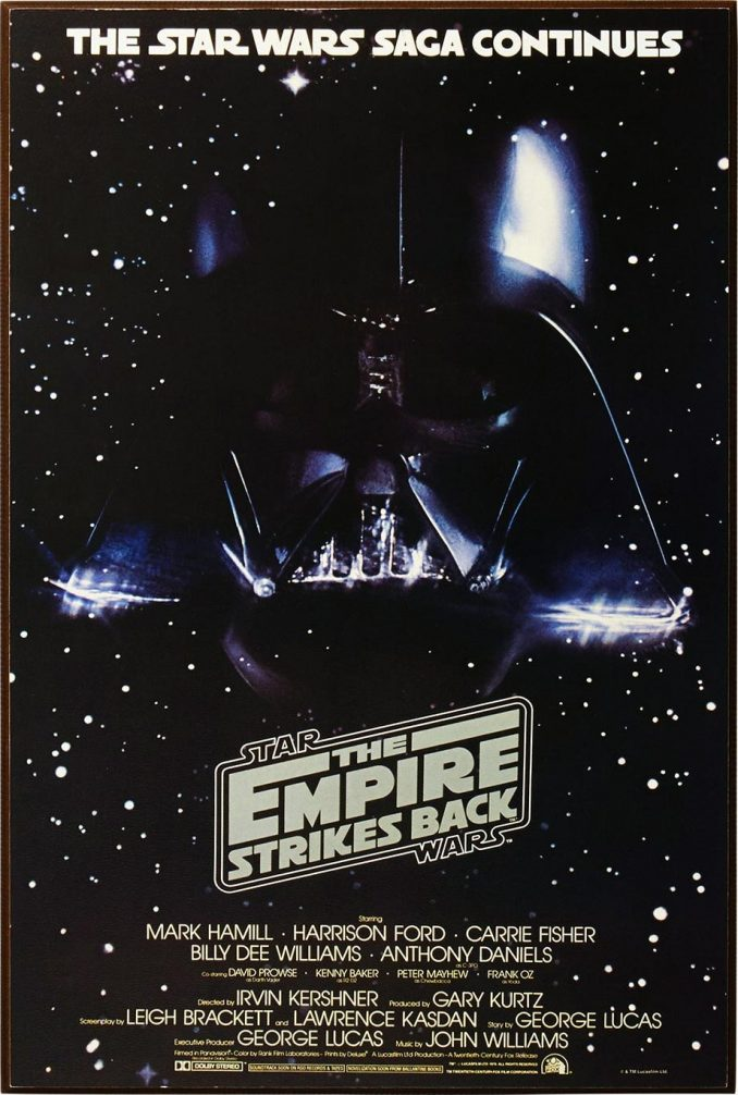 Star Wars The Empire Strikes Back Wood Wall Art