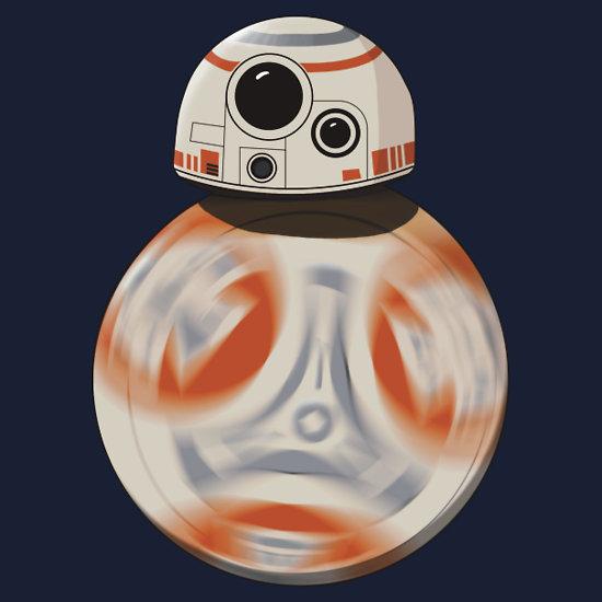 Star Wars The Force Awakens BB-8 T-Shirt