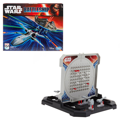 Star Wars The Force Awakens Battleship Game