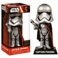 Star Wars The Force Awakens Captain Phasma Bobble Head