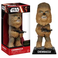Star Wars The Force Awakens Chewbacca Bobble Head
