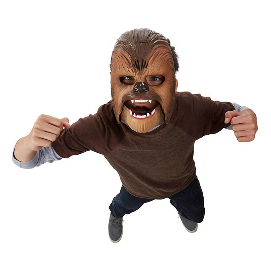 Star Wars The Force Awakens Chewbacca Electronic Mask 1