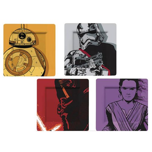 Star Wars The Force Awakens Comic Plate Set