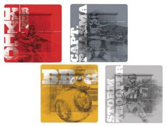Star Wars The Force Awakens First Order Plate Set