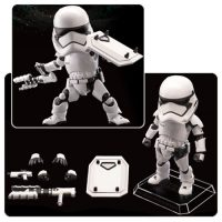 Star Wars The Force Awakens First Order Riot Control Stormtrooper Egg Attack Action Figure