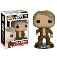 Star Wars The Force Awakens Han Solo Pop Vinyl Bobble Head