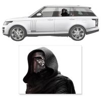 Star Wars The Force Awakens Kylo Ren Window Wrap Passenger Series Car Decal