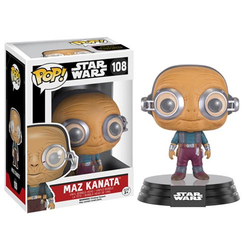 Star Wars The Force Awakens Maz Kanata Pop Vinyl Figure