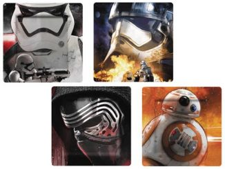 Star Wars The Force Awakens Photograph Plate Set