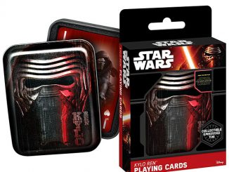 Star Wars The Force Awakens Playing Card Tin