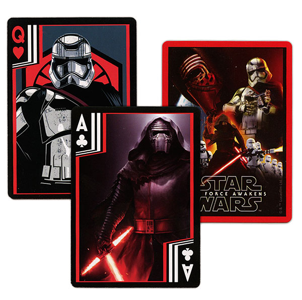 Star Wars The Force Awakens Playing Cards in Stormtrooper Helmet