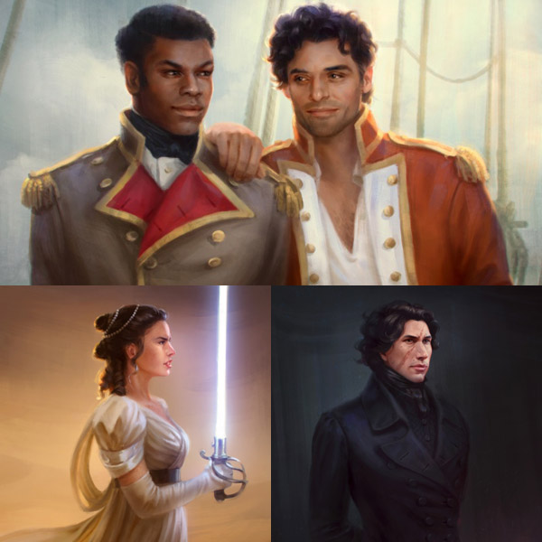 Star Wars The Force Awakens Regency Art Prints