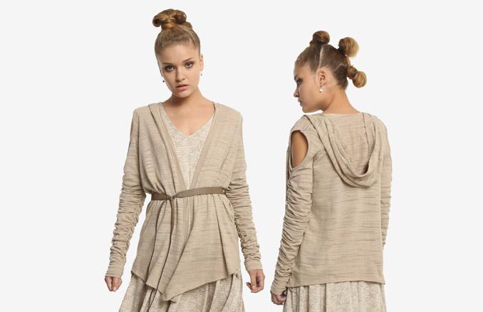 efbed469907 Star Wars The Force Awakens Rey Cardigan