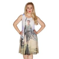 Star Wars The Force Awakens Rey Swing Dress