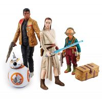 Star Wars The Force Awakens Takodana Encounter Action Figures