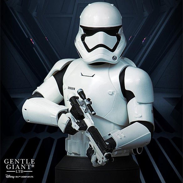 Star Wars The Force Awakens The First Order Stormtrooper Mini-Bust