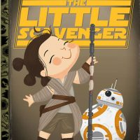 Star Wars The Force Awakens The Little Scavenger Art Print