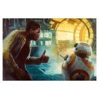 Star Wars The Force Awakens Thumbs Up Art Print_small