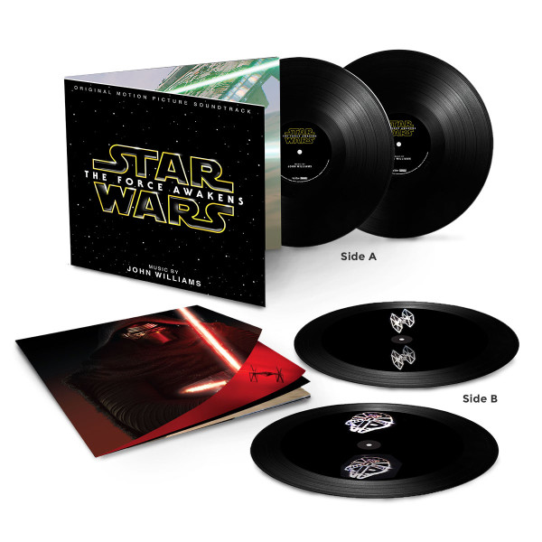 Star Wars The Force Awakens Two LP Hologram Vinyl