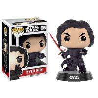 Star Wars The Force Awakens Unmasked Kylo Ren Pop Vinyl Figure