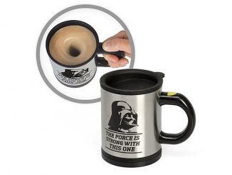 Star Wars The Force Is Strong With This One Self Stirring Mug