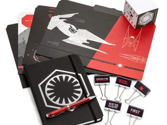 Star Wars The Last Jedi Dark Side Stationery Set