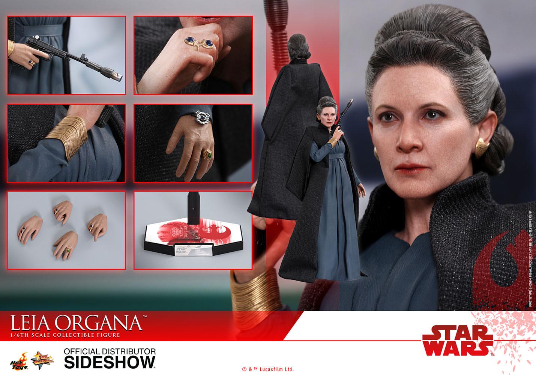 Star Wars The Last Jedi Leia Organa Sixth-Scale Figure
