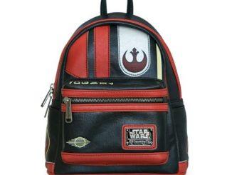 Star Wars The Last Jedi Poe Dameron Mini Cosplay Backpack