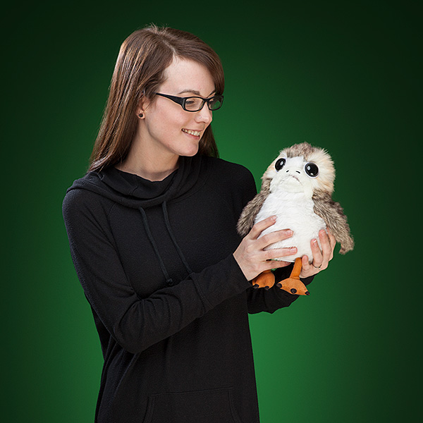 Star Wars The Last Jedi Porg Animated Plush